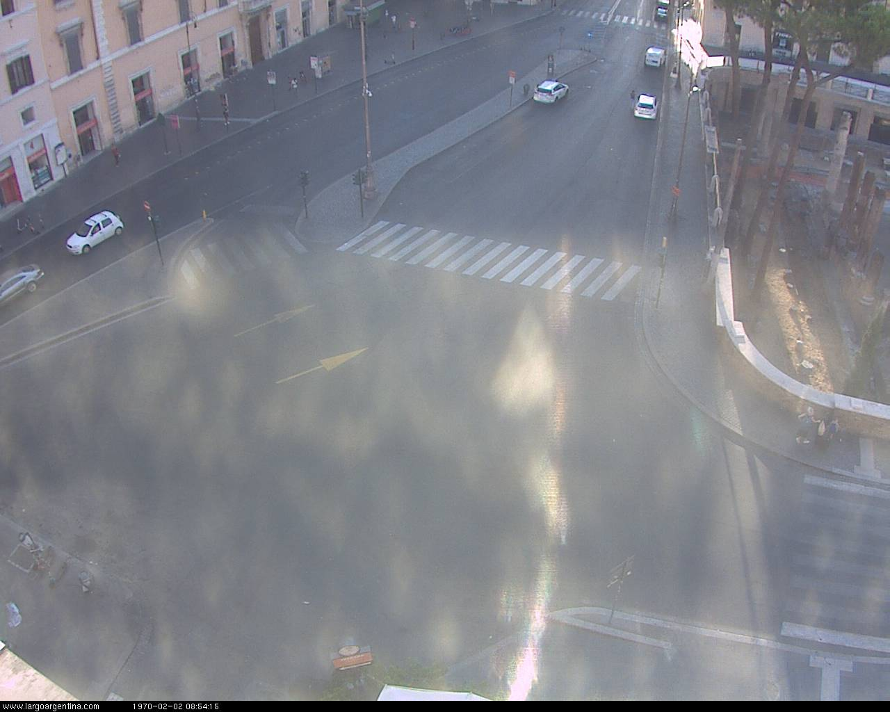 Webcam Largo Argentina, Roma, Lazio