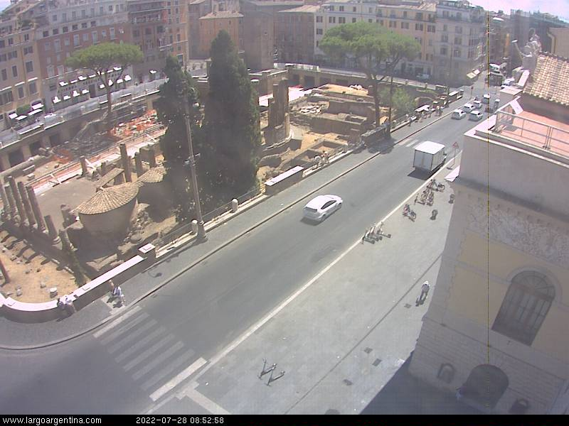 Webcam Roma Largo Argentina